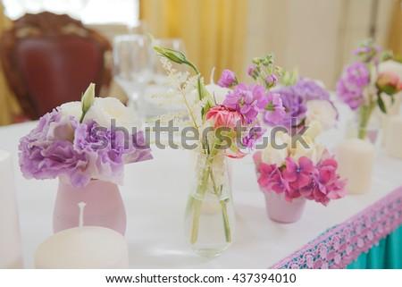 Sweet Pink Flower In Horizontal Shape Ez Canvas