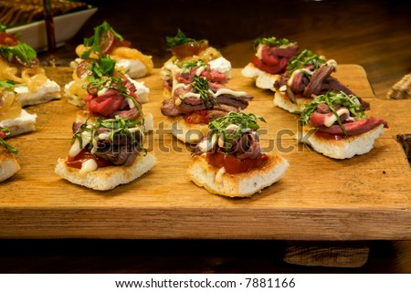 Tenderloin Appetizers