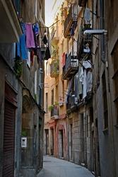 Tenement house in Barcelona
