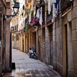 Tenement House in Barcelona.