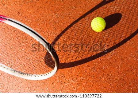 tennis abstract background