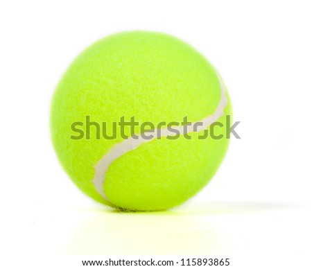 Tennis ball.