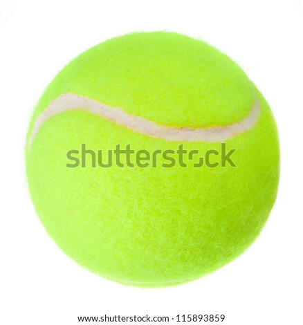 Tennis ball. the new.