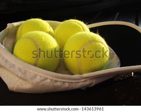 tennis cap & balls