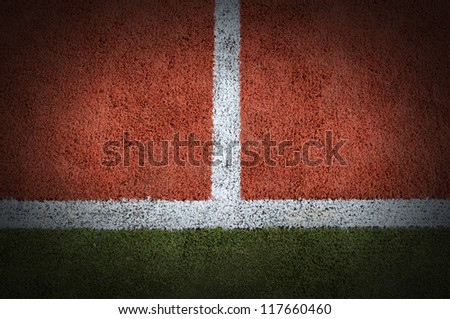Tennis court grass play game background texture pattern line sport outdoor match for design