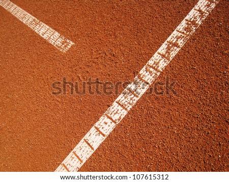 tennis court t-line 17
