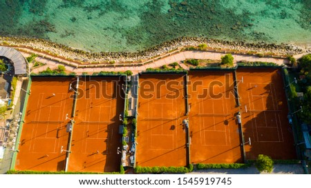 tennis courts in Puerto portals Majorca