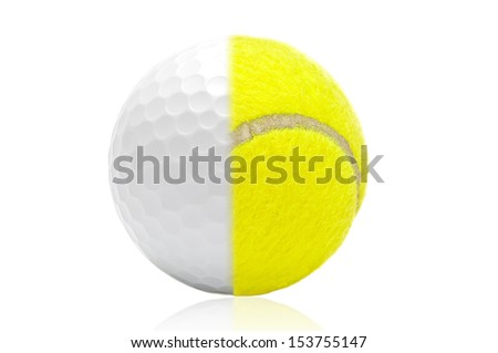 Tennis, golf ball