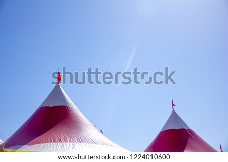 Tent roof for festivals #1224010600