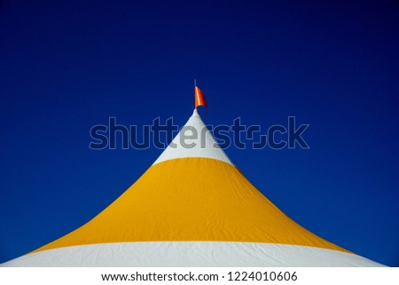Tent roof for festivals #1224010606