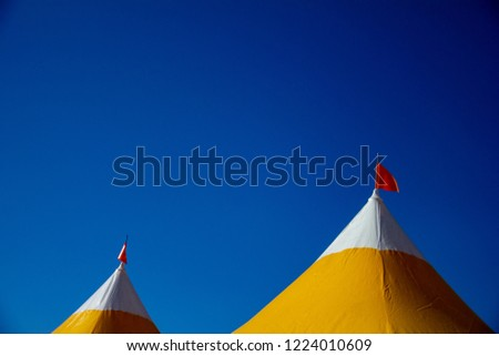 Tent roof for festivals #1224010609