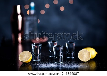 Tequila shots #741349087