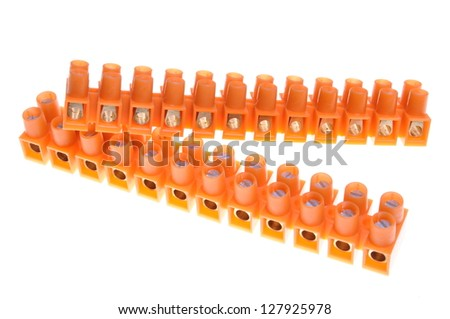 Terminal blocks for electric cables