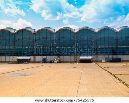 Terminal in the Ronald Reagan Airport in Washington DC