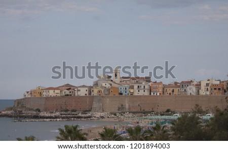 Termoli Molise, Campobasso Italy seaside village #1201894003
