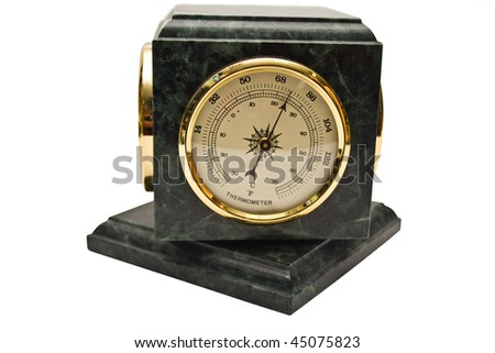 termometer on a white background