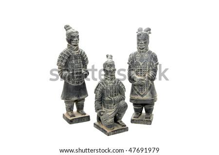 Terra-cotta army in Xian