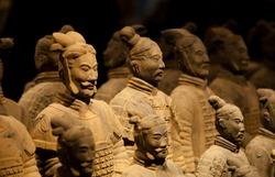 Terra cotta warriors Xian China