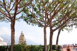 Terrace du Palais near Prince's Palace of Monaco.