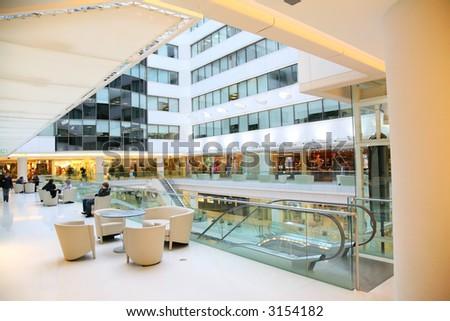 terrace in shop