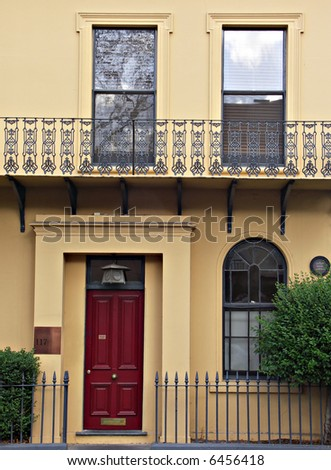 Terraced House in Melbourne Australia