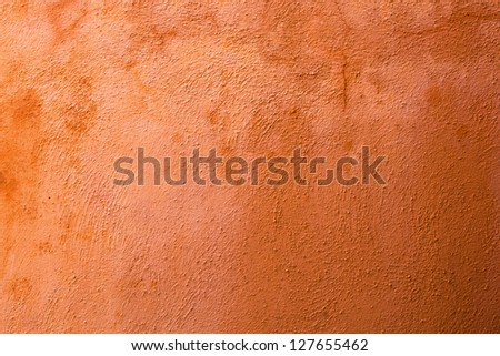 terracotta colored texture from Venetian wall