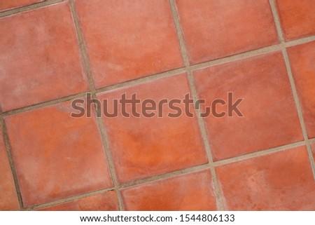 terracotta tiled floor background - terra cotta tiles   #1544806133