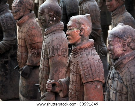 Terracotta Warriors of China (as famous as Mummy of Egypt)