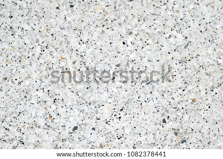 Terrazzo polished stone floor and wall pattern and color surface marble and granite stone, material for decoration background texture, interior design.