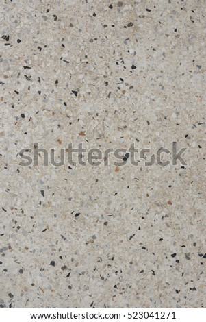 Terrazzo Surface With Small Stones