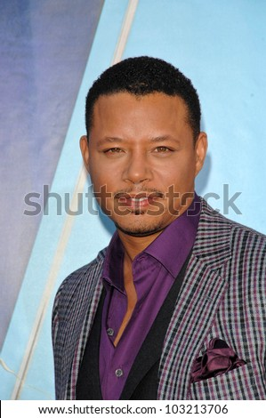 "Terrence Howard  at the ""The Princess And The Frog"" World Premiere, Walt Disney Studios, Burbank, CA. 11-15-09"