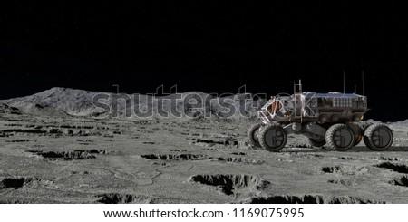terrestrial force exploring 3d illustration