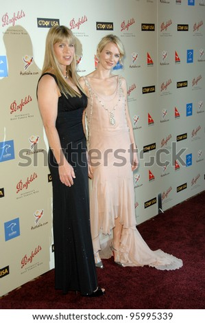 TERRI IRWIN (left) & NAOMI WATTS at the Penfolds Icon Gala - part of the G'Day LA week - at the Century Plaza Hotel. January 13, 2007 Los Angeles, CA Picture: Paul Smith / Featureflash