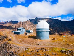 Terskol Peak Observatory is an International Center for Astronomical, Medical and Ecological Research on the Mount Elbrus, Russia