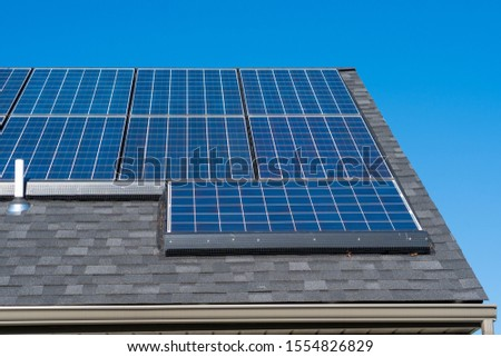 Tesla Solar Panels on Roof with Critter Guard