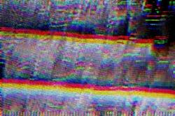 Test Screen Glitch Texture