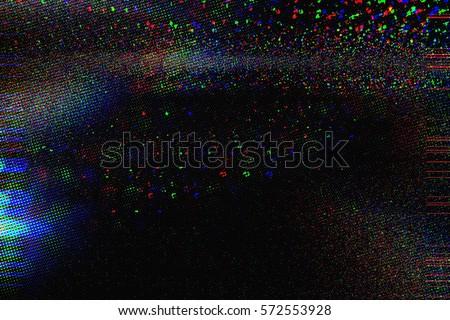 Photo of  Test Screen Glitch Texture
