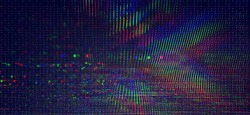 Test Screen Glitch Texture background