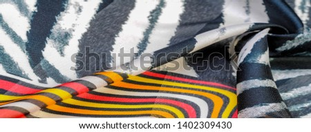 TeTexture pattern, silk fabric, African themes, printing on fabric, cheerful pattern will decorate the project. dichotomous nature of the theme of freedom, heaven, hell, exotic banality, dream reality #1402309430