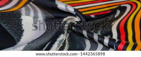 TeTexture pattern, silk fabric, African themes, printing on fabric, cheerful pattern will decorate the project. dichotomous nature of the theme of freedom, heaven, hell, exotic banality, dream reality #1442365898