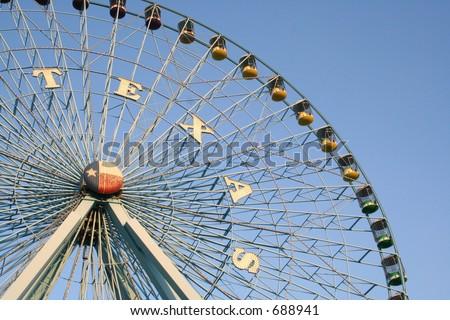 Texas Star Ferris Wheel at Fair Park in Dallas, Texas