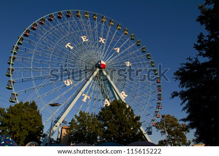 Texas Star Ferris Wheel at the Texas State Fair