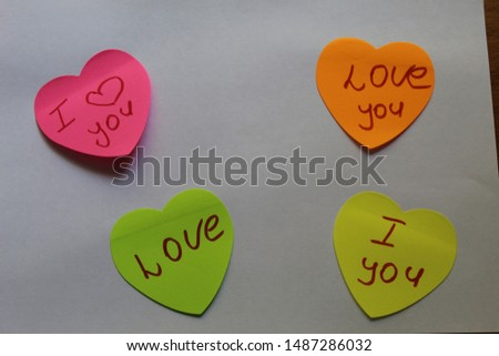 text messages on stickers. message paper #1487286032