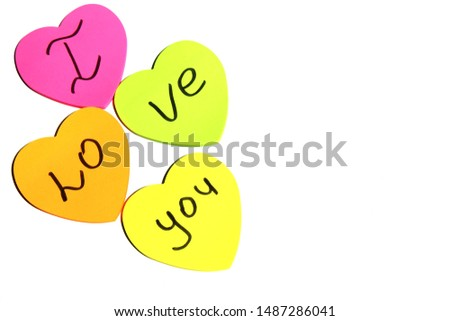 text messages on stickers. message paper #1487286041