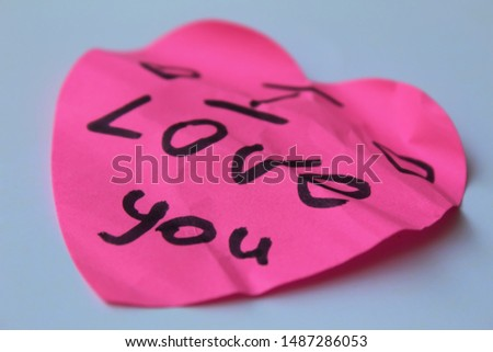 text messages on stickers. message paper #1487286053