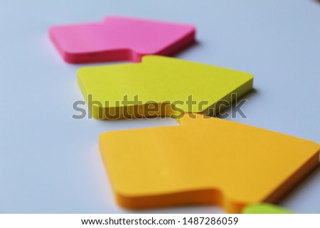 text messages on stickers. message paper #1487286059