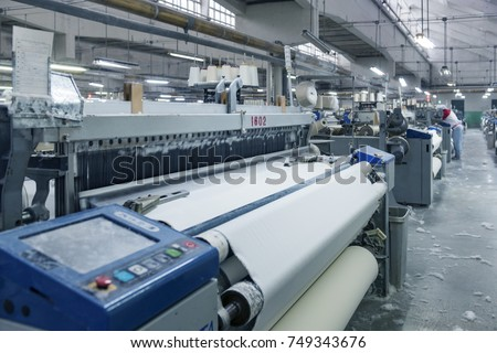 Textile industry #749343676
