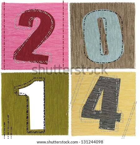 Textile numbers new year 2014