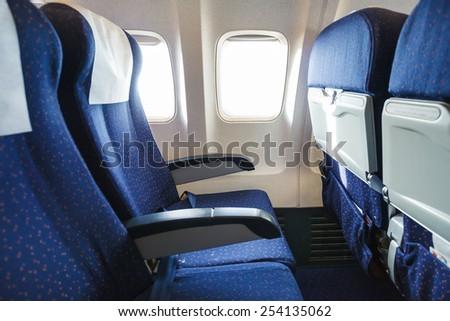 textile seats in economy class...