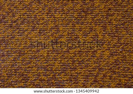Textile texture. Brown textile. Textile background. #1345409942